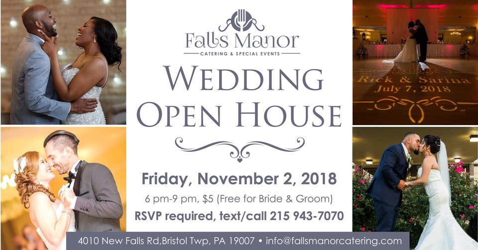 Wedding Open House Falls Manor Catering
