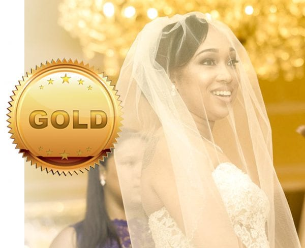 Gold wedding package, Falls Manor