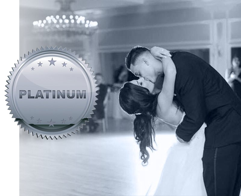 Platinum wedding package, Falls Manor